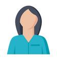 nurse icon vector image