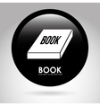 book button vector image vector image