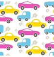 Car cute baby seamless pattern vector image vector image