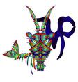 Horoscope Capricornus vector image