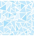 Sharp shapes blue triangles vector image