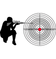 target for shooting range vector image