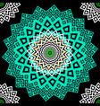 zigzag lace greek mandalas seamless pattern vector image vector image