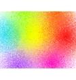 Rainbow colors sprayed paint abstract
