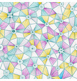 abstract triangles pattern vector image vector image