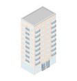 business center building vector image