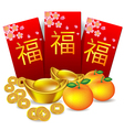 Chinese new year red packet vector image vector image