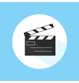 Clapboard Video Cinema Movie Studio Equipment Pro vector image vector image