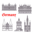 Germany historic buildings architecture