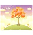 Heart shape tree vector image vector image