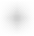 monochrome circle pattern - background vector image vector image