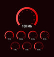 Set speed test speedometer internet speed website