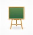 Green Black Board School vector image