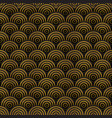 black and gold abstract seamless pattern vector image vector image