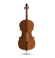 cello music orchestra background isolated violin vector image vector image