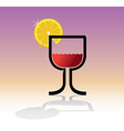 Drink theme vector image vector image