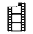 film icon simple style vector image vector image