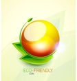 Green concept icon vector image