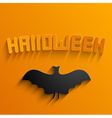 halloween background Eps10 vector image vector image