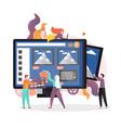 home appliances online concept for web vector image