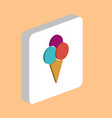 ice cream computer symbol vector image