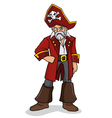 One Eyed Pirates vector image vector image