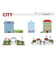 Public building vector image vector image