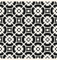seamless pattern monochrome mosaic texture vector image vector image