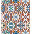 seamless texture beautiful mega patchwork pattern vector image