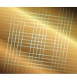 Abstract golden grid perspective space background vector image vector image