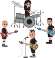 Band vector image vector image