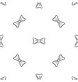 bride bow tie pattern seamless vector image