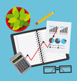 business planning vector image vector image