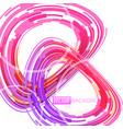 colorful shapes circle motion vector image vector image