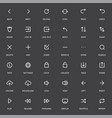 system user interface ui icon set high quality vector image