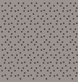beige brown pastel background chaotically dots vector image