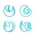 Bird symbols vector image