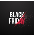 Black Friday Sale Exlosion Poster Huge November vector image