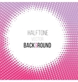 color gradient dot halftone background vector image vector image