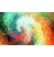 Color Swirl Art vector image vector image