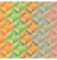 geometric pattern with colorful rectangles vector image vector image
