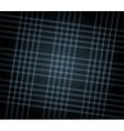 Grid black texture background vector image vector image