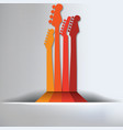 Guitar Abstract Background vector image