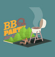 isometric barbecue bbq icon vector image vector image