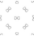 new bow tie pattern seamless vector image vector image
