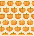 pumpkin nutrition seamless pattern image vector image