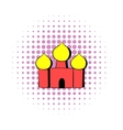 Saint Basils Cathedral Moscow Russia icon vector image