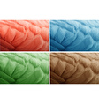 Texture background in four colors vector image vector image