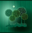 world green environment day background vector image