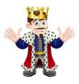 cute king man vector image